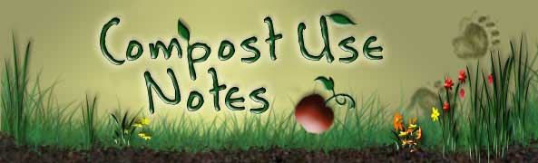 Compost Use Notes